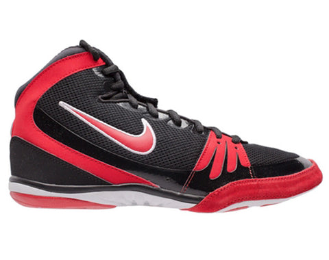 NIKE FREEK WRESTLING SHOES - BLACK/RED