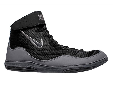 NIKE INFLICT 3 WRESTLING SHOES - BLACK/GREY
