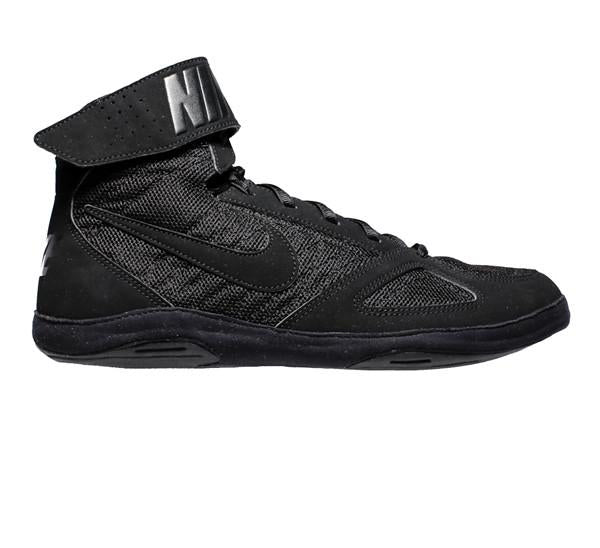 NIKE TAKEDOWN 4 WRESTLING SHOE - BLACK