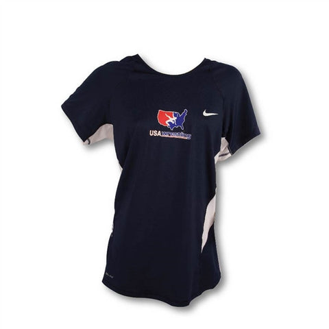 USA NIKE WOMEN'S HYPERCOOL TEE