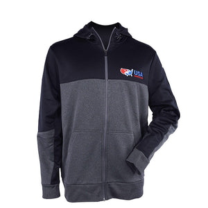 USA MEN'S FULL ZIP HOODIE