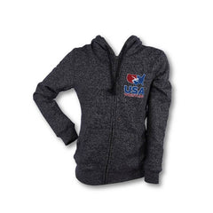 USA WOMEN'S FULL ZIP FLEECE