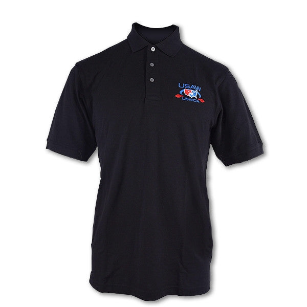 USWOA BLACK OFFICIAL'S POLO