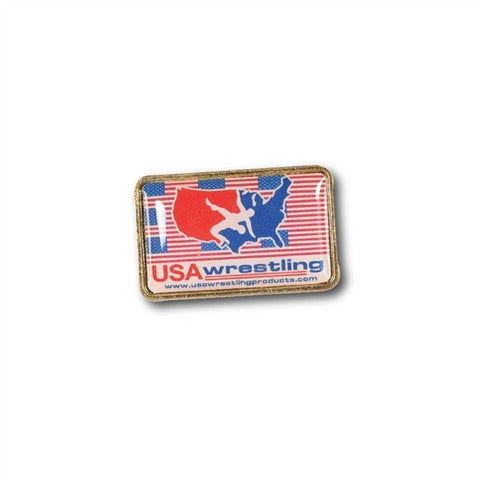 USA FLAG BACKGROUND PINS
