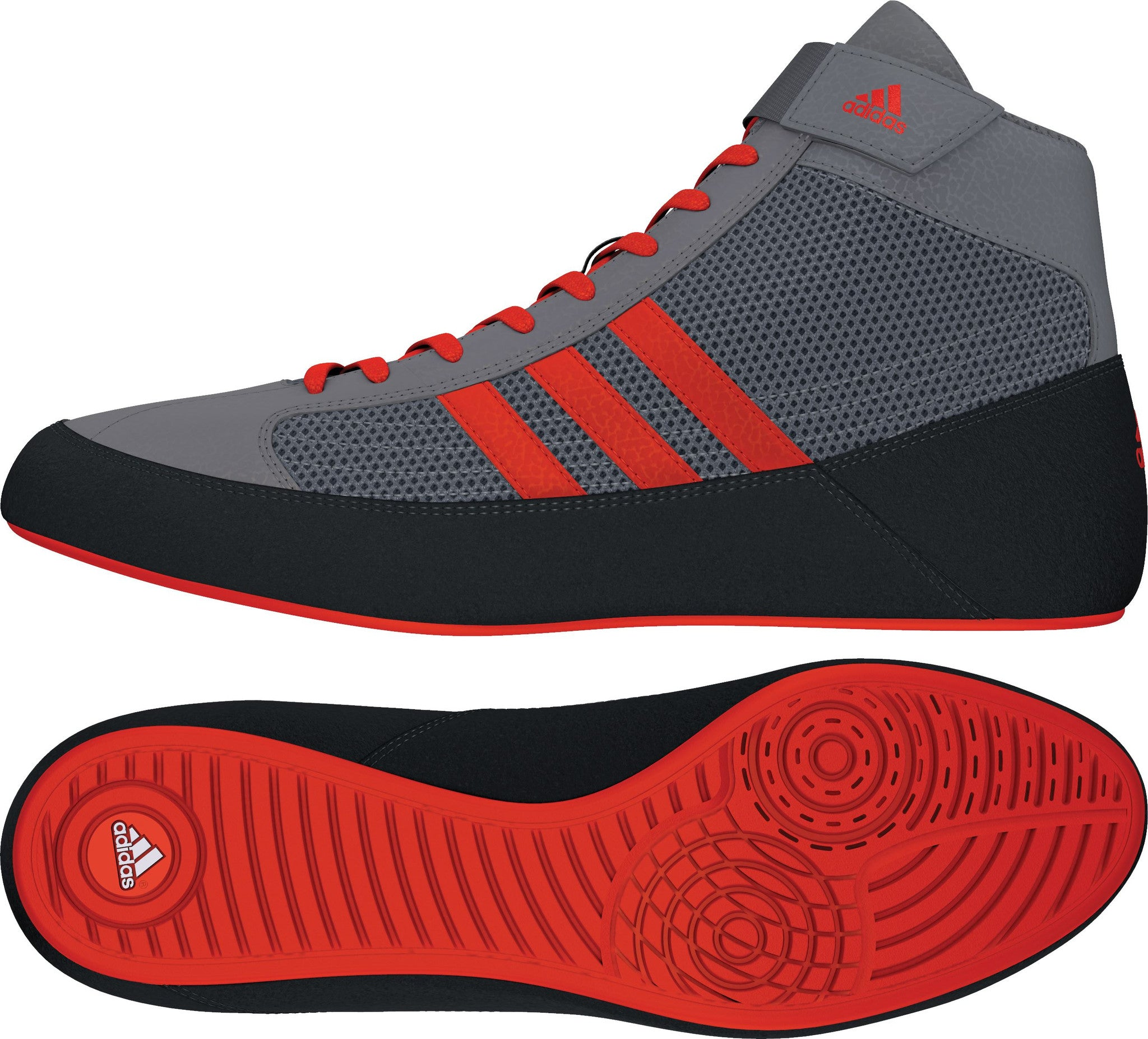 ADIDAS HVC 2 WRESTLING SHOES (2 COLOR OPTIONS)
