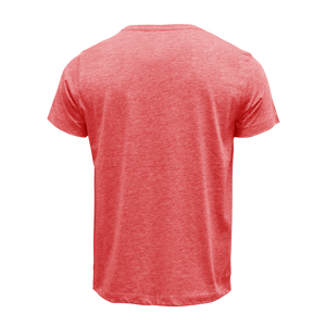 Red Heather Blank T-Shirt