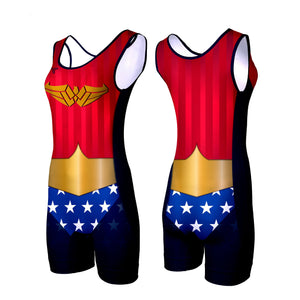 AMAZONIAN WOMEN'S WRESTLING SINGLET (MADE TO ORDER)