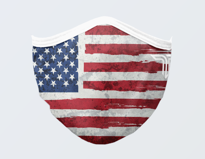 AMERICAN FLAG STRONG FACE MASK
