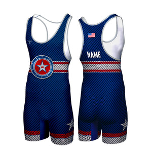 CAPTAIN CUSTOM WRESTLING SINGLET (MADE TO ORDER)