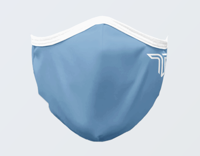 CAROLINA BLUE FACE MASK