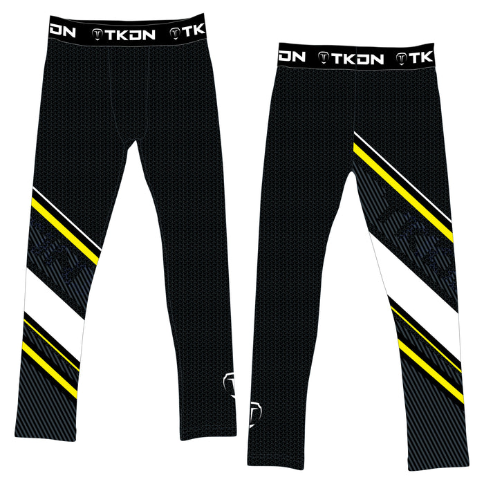 ELITE TKDN COMPRESSION PANTS (MADE TO ORDER - 4 COLOR OPTIONS)