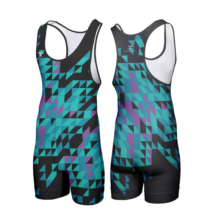 TAKEDOWN SINGLET - FRACTURED (MADE TO ORDER - 2 COLOR OPTIONS)