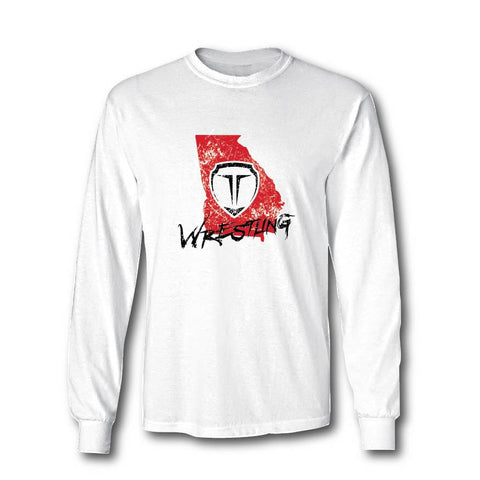 TAKEDOWN SHIRT - GEORGIA WRESTLING LS