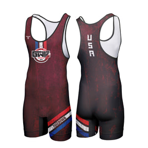GWIZ AMBUSH WRESTLING SINGLET (MADE TO ORDER)