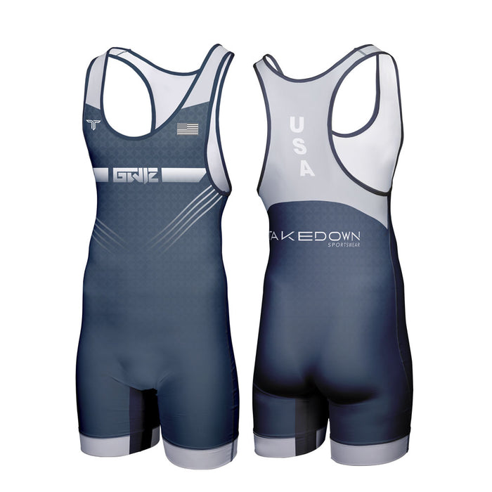 GWIZ ATTACK WRESTLING SINGLET (MADE TO ORDER)