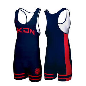 HAWKEYE CUSTOM WRESTLING SINGLET (MADE TO ORDER - 2 COLOR OPTIONS)