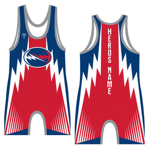 HERO CUSTOM WRESTLING SINGLET (MADE TO ORDER)