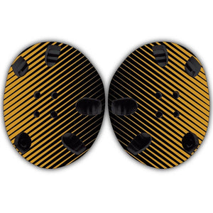 TAKEDOWN CUSTOM HEADGEAR WRAP - GOLD STRIPE