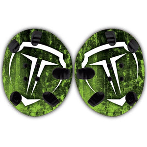 TAKEDOWN CUSTOM HEADGEAR WRAP - TD LIME