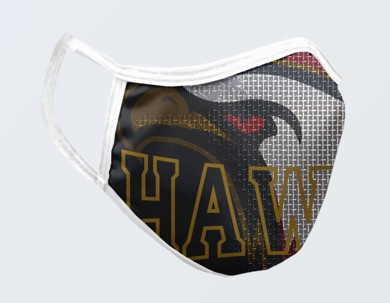 HAWKS FACE MASK