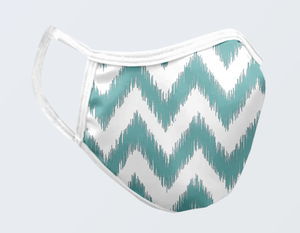 IKAT CHEVRON FACE MASK