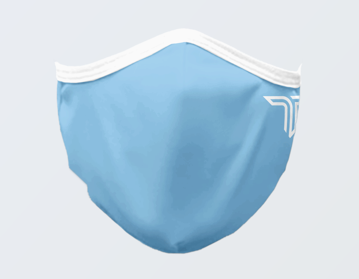 LIGHT BLUE FACE MASK