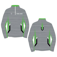 VELOCITY CUSTOM QUARTER ZIP (MADE TO ORDER - 3 COLOR OPTIONS)