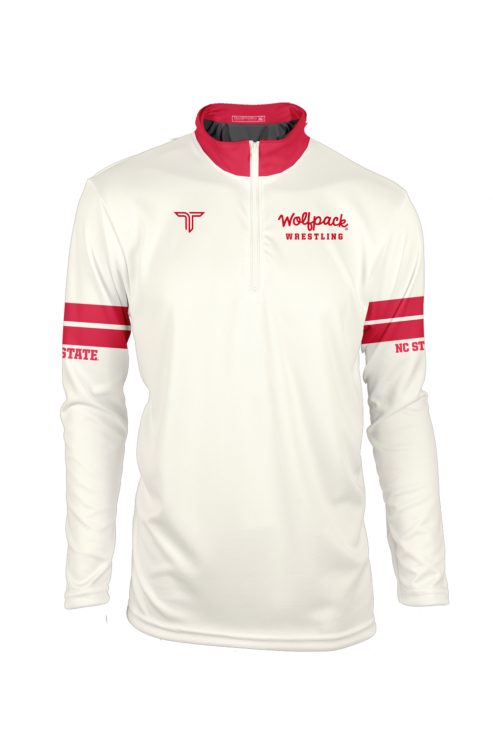 NC State Retro Sublimated Quarter Zip