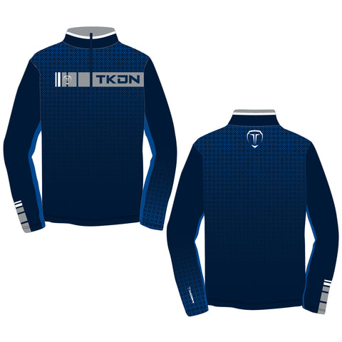 REVERSAL TKDN QUARTER ZIP (MADE TO ORDER - 4 COLOR OPTIONS)