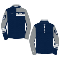 SLICK TKDN QUARTER ZIP (MADE TO ORDER - 4 COLOR OPTIONS)