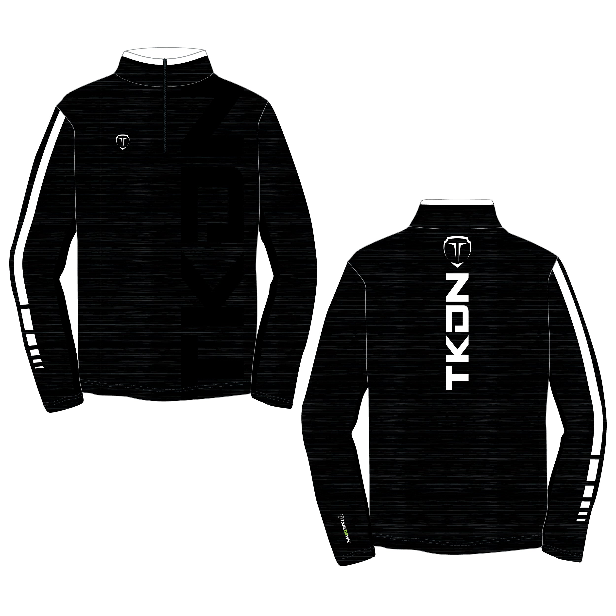 WHIZZER TKDN QUARTER ZIP (MADE TO ORDER - 4 COLOR OPTIONS)