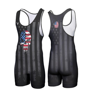 JUSTICE WRESTLING SINGLET (MADE TO ORDER)