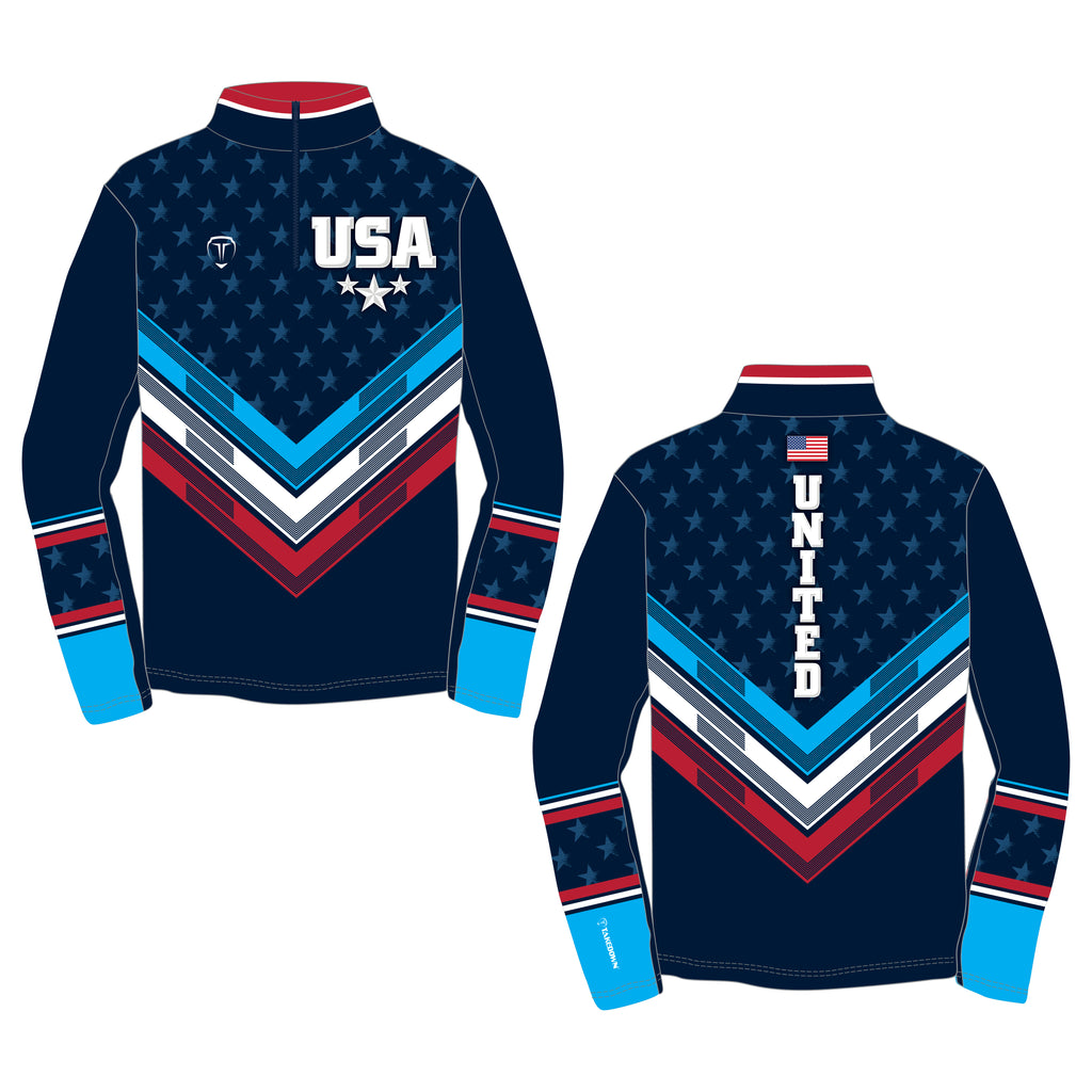 THE GWIZ QUARTER ZIP (MADE TO ORDER)