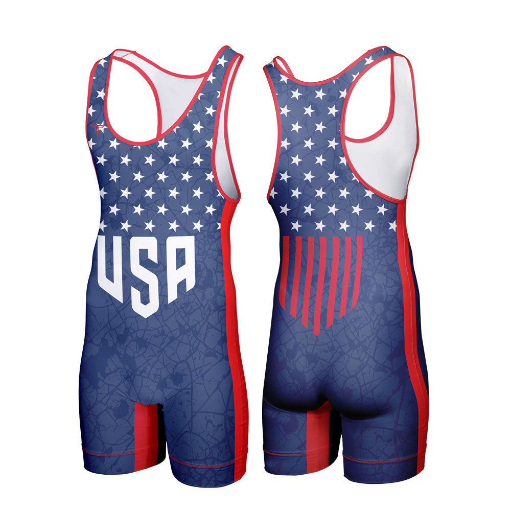 HOMELAND WRESTLING SINGLET (MADE TO ORDER)