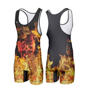 FIRESTORM WRESTLING SINGLET (MADE TO ORDER)