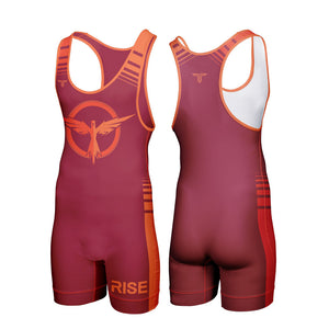 RISE WRESTLING SINGLET (MADE TO ORDER - 2 COLOR OPTIONS)