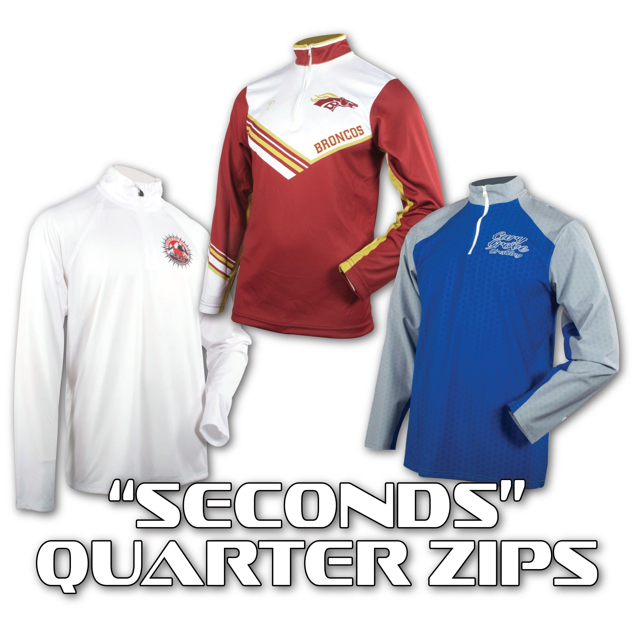 TAKEDOWN - SECONDS ZIP PULLOVER