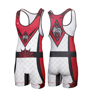 THE SPIDER WRESTLING SINGLET (MADE TO ORDER)