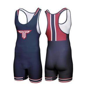 COLLEGE SERIES - CHIEF WRESTLING SINGLET (MADE TO ORDER - 2 COLOR OPTIONS)