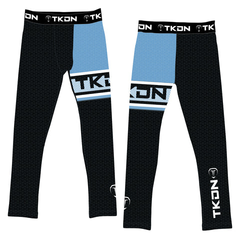 SLICK TKDN COMPRESSION PANTS (MADE TO ORDER - 4 COLOR OPTIONS)