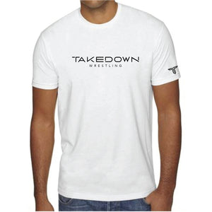 TAKEDOWN WRESTLING TEE (WHITE)