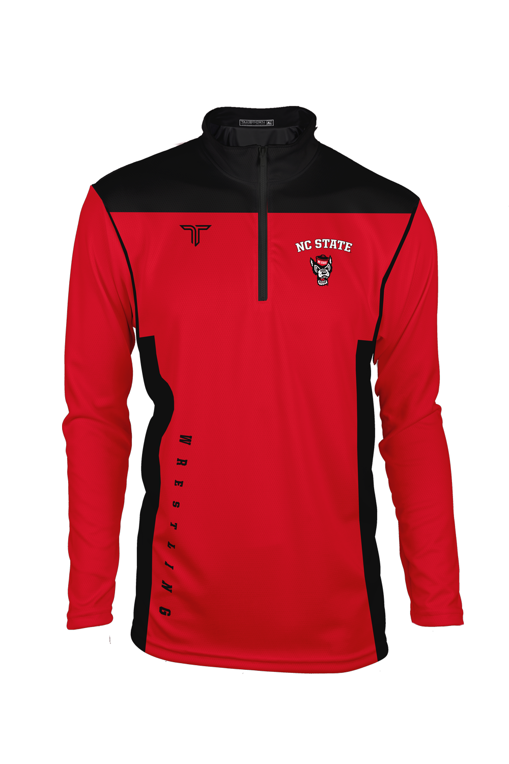 NC State Modern Sublimated Quarter Zip