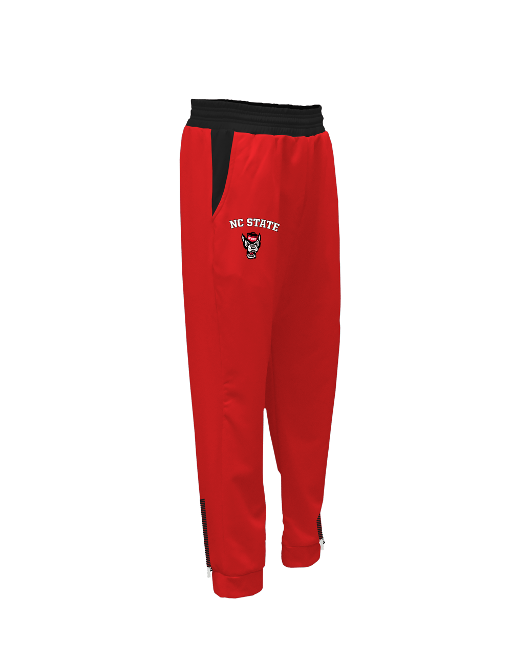 NC State Modern Sublimated Zip Joggers