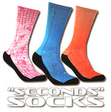 TAKEDOWN SECONDS SUBLIMATED SOCKS (PAIR)