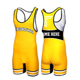 TIGER CUSTOM WRESTLING SINGLET (MADE TO ORDER - 2 COLOR OPTIONS)
