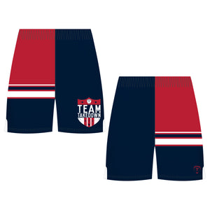 TEAM TKDN WRESTLING SHORTS (MADE TO ORDER)