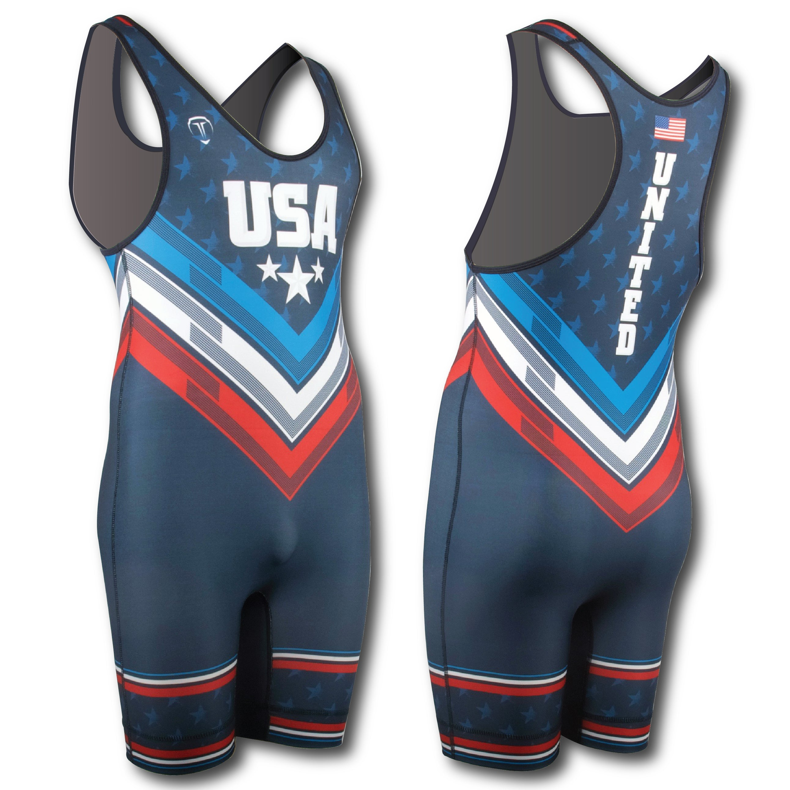 THE GWIZ WRESTLING SINGLET