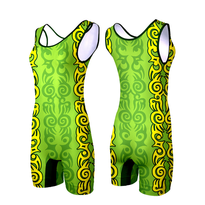 TRIBAL TATTOO WOMEN'S SINGLET (MADE TO ORDER - 3 COLOR OPTIONS)
