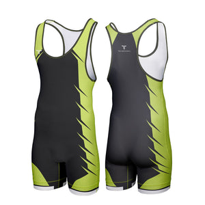 VARSITY WRESTLING SINGLET (MADE TO ORDER - 4 COLOR OPTIONS)