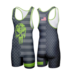 VENGEANCE WRESTLING SINGLET (MADE TO ORDER - 4 COLOR OPTIONS)